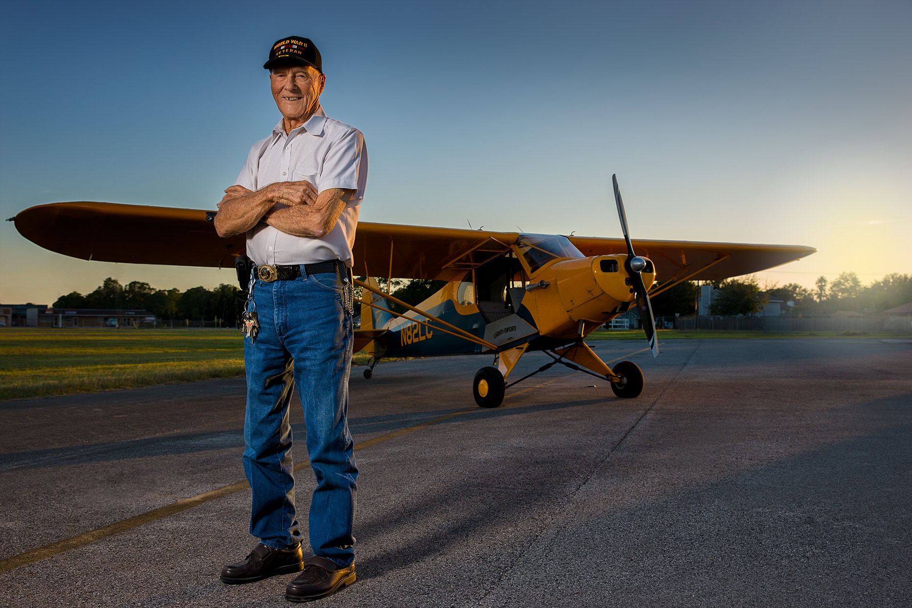 Gideon Jones, 92-Year Old USAF Veteran & Flight Instructor